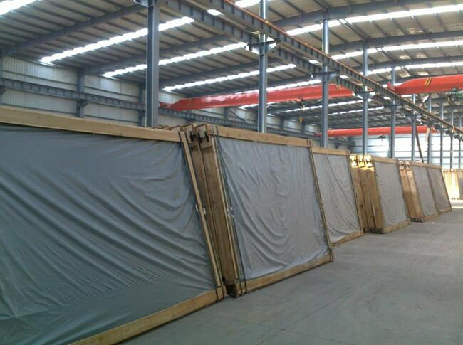 6.38mm laminated float glass