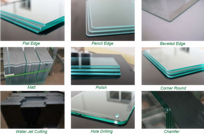 polishing tempered glass 4mm