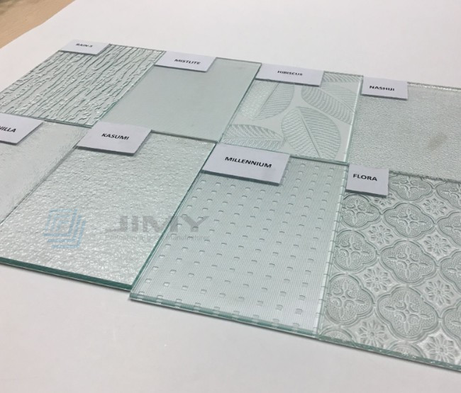 4mm Chinchilla decorative patterned glass suppliers