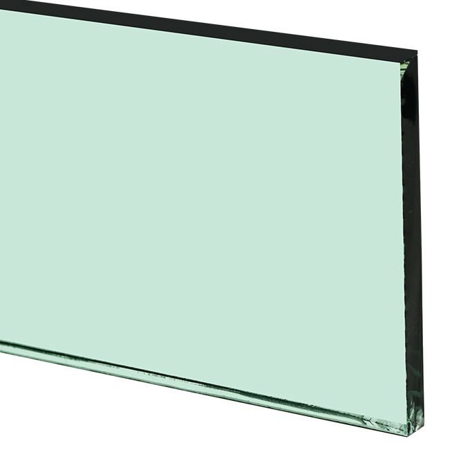 10mm F-green float glass price