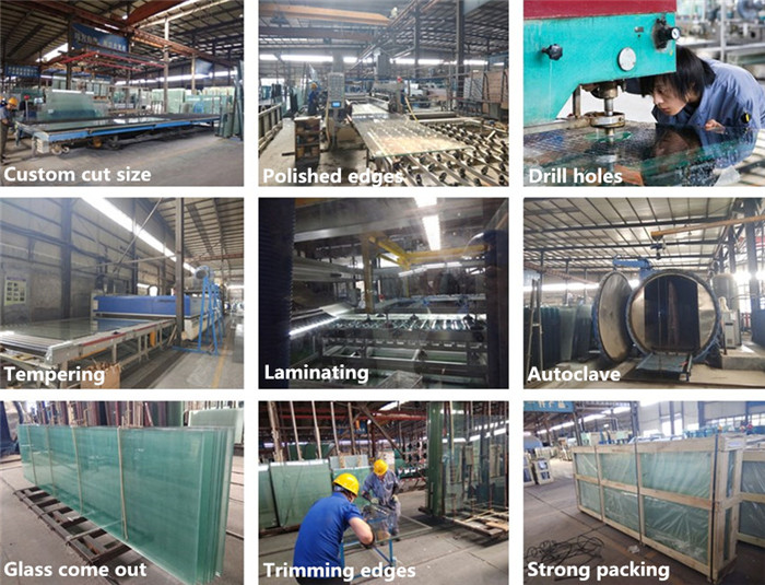 procedure to produce laminated glass