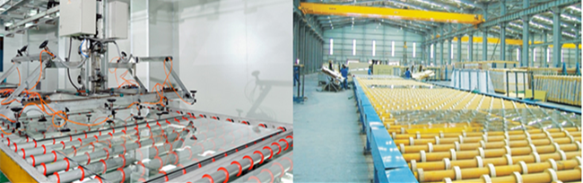 low iron glass production