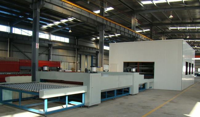 6.38mm clear laminated glass production line