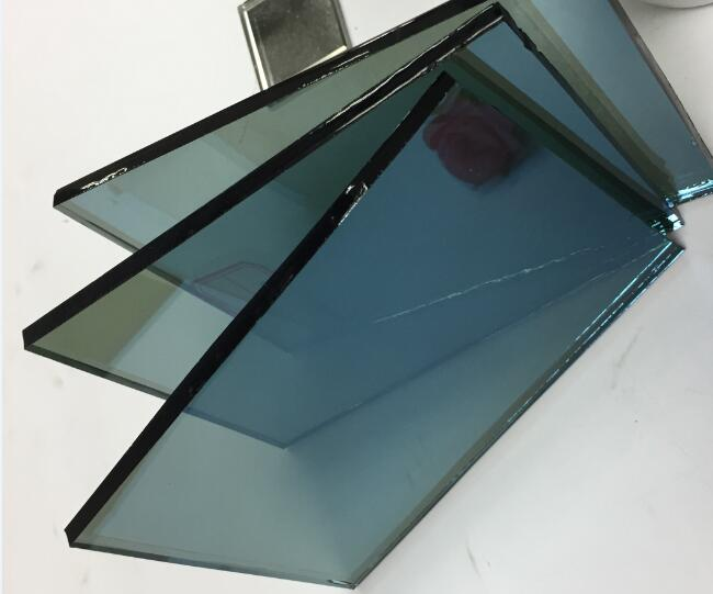 5mm blue tinted reflective glass manufacturer