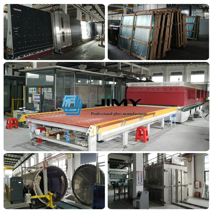 green laminated glass factory