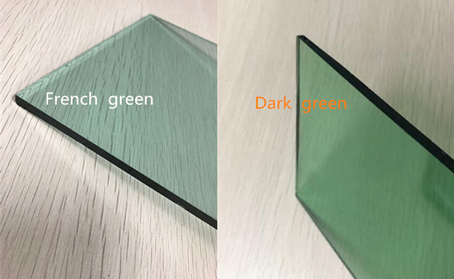 4mm green float glass price