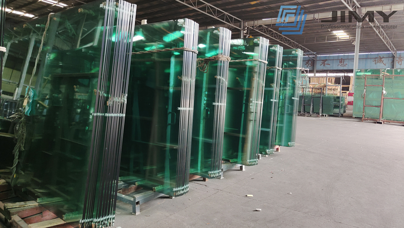 Padel court 12mm clear tempered glass wall, 1/2 clear toughened glass Padel court