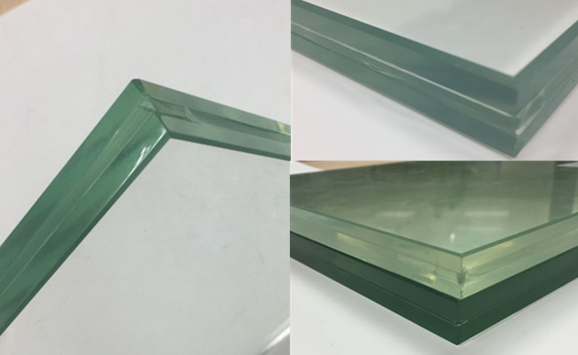 15mm+1.52mm+15mm SGP tempered laminated safety glass