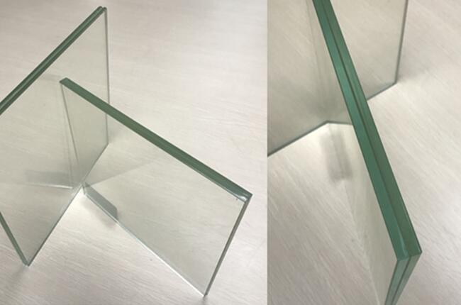 CE certified toughened laminated glass