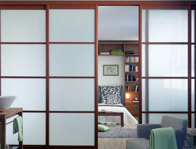10mm frosted tempered glass for cabinet door