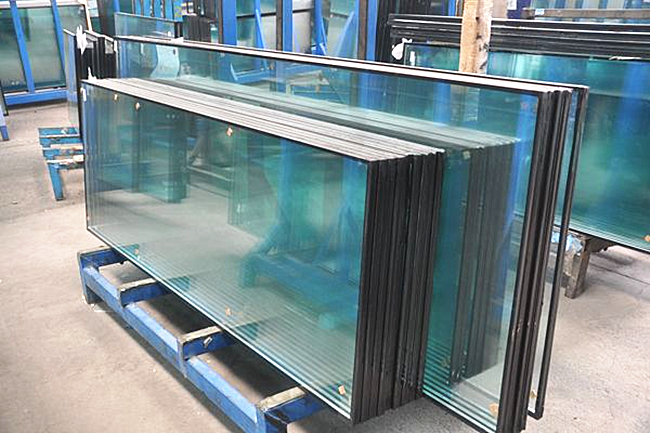 8+12A+9.14mm tempered laminated insulated glass