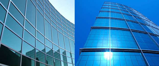Tinted Float Glass For Curtain Wall