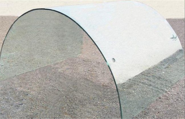 curved ESG glass panel