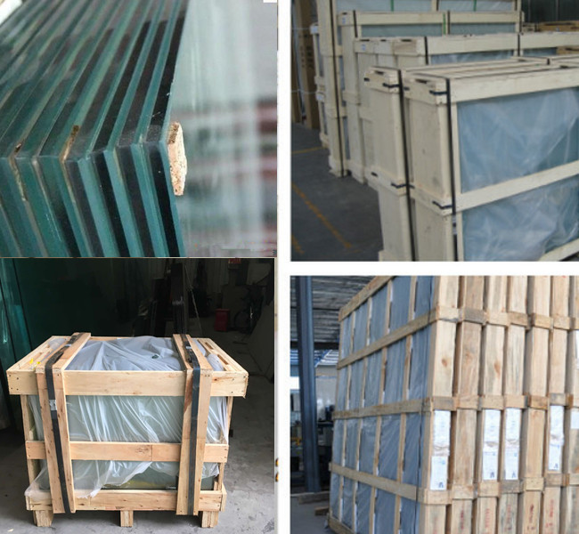 safety tempered glass package