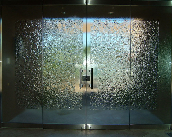 10mm Glass Stone Frameless Entry