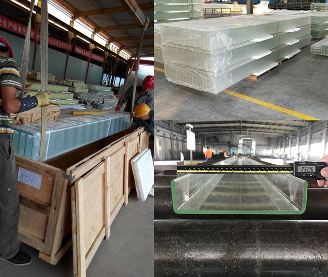 soundproof U profiled glass price