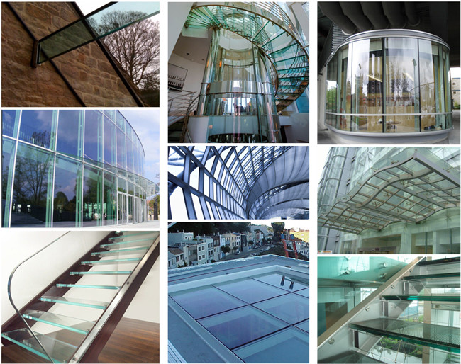 tempered laminated glass application