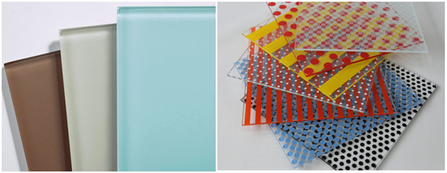 China interior decorative glass supplier
