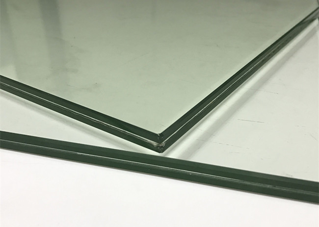 13.14mm clear PVB laminated glass