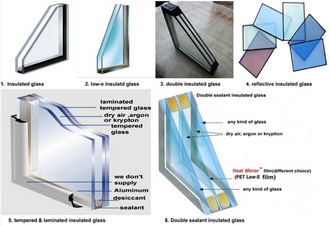 insulated glass types