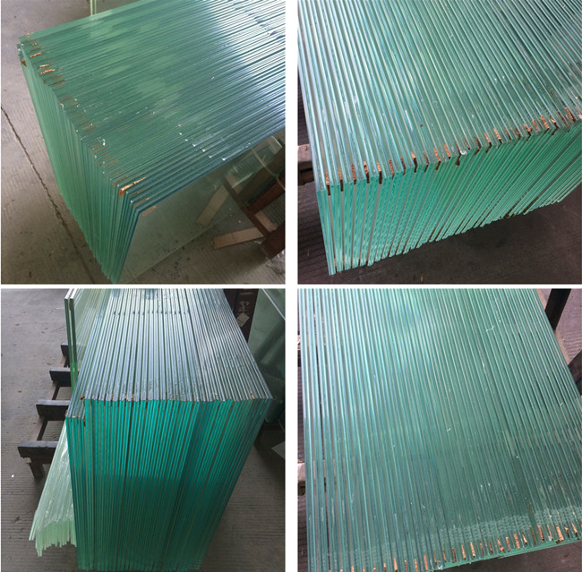 tempered laminated glass curtains