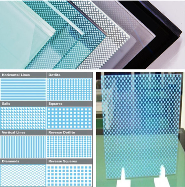 painted glass in Various Colors & Patterns