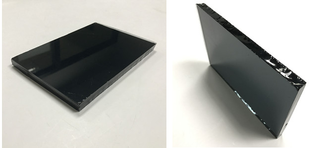 China manufacturer 8mm dark grey tinted glass
