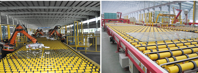 high quality clear float glass production