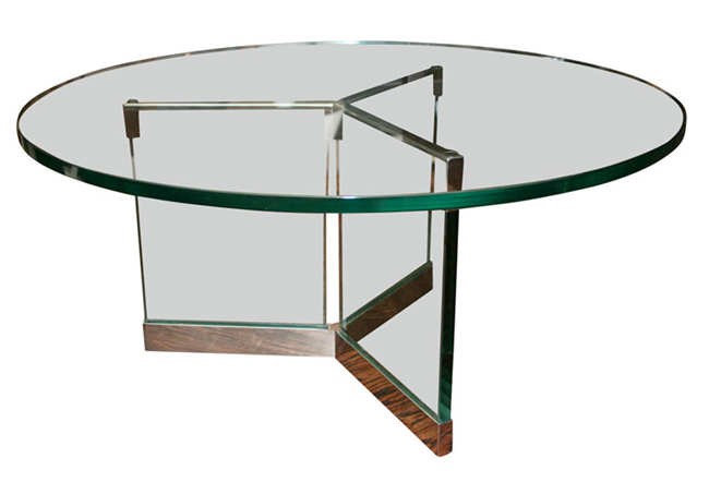 round clear tempered glass table tops