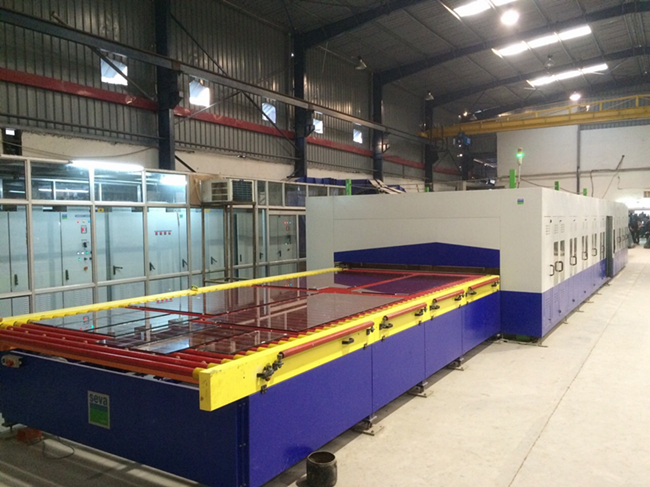 China toughened glass factory