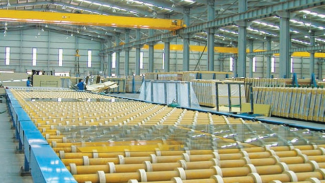 Float Glass Production Plant