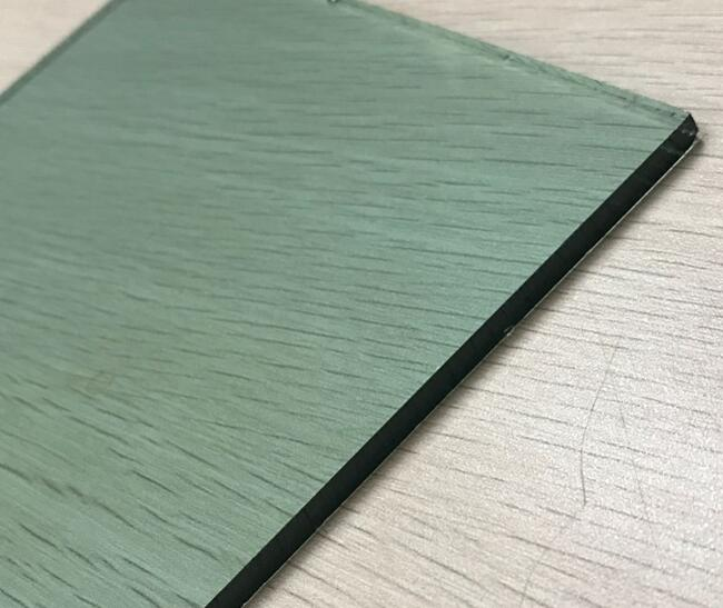 high quality french green float glass panels