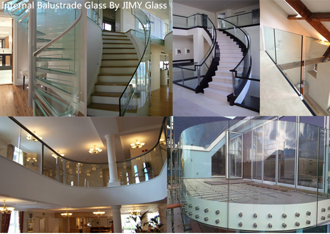 8mm tempered glass balustrade for sale