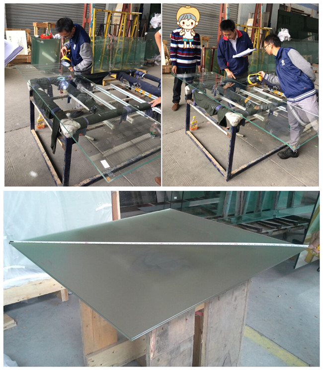 laminated glass inspatection carefully