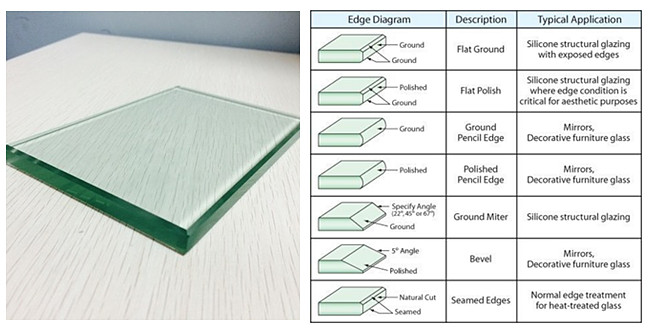 10mm clear tempered glass