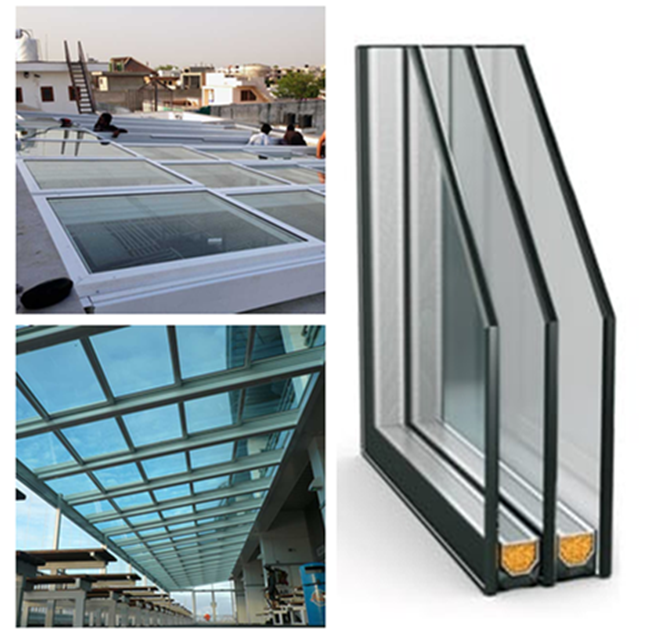 High quality Triple insulated glass units