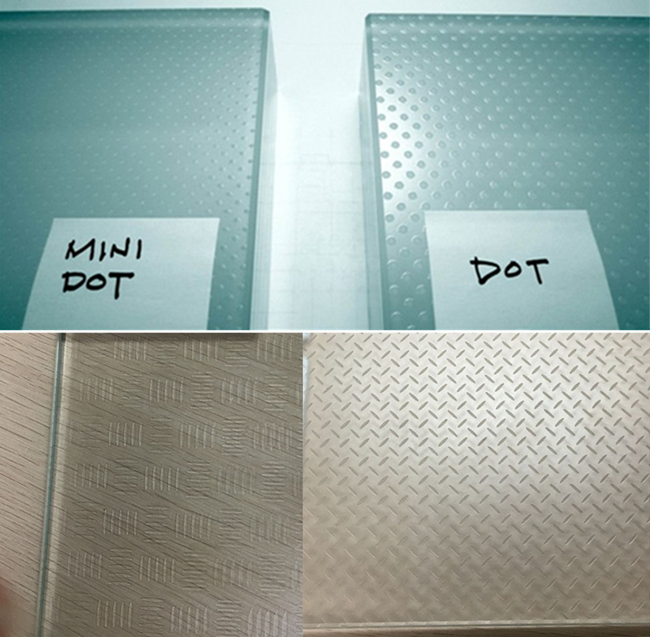 special processed Anti-skid glass floor