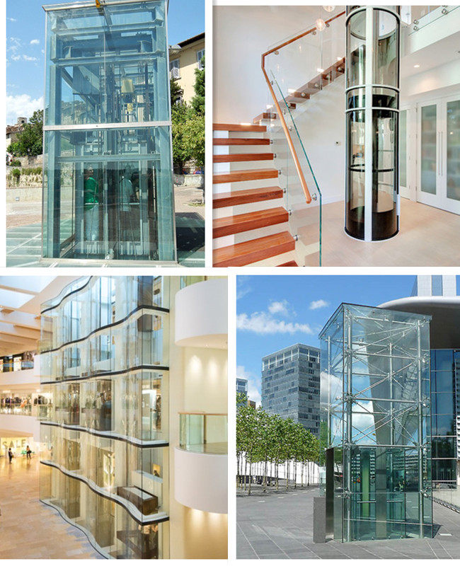 commercial building elevator glass supplier