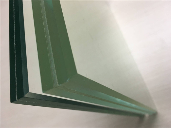 compare with normal clear and ultra clear tempered laminated glass