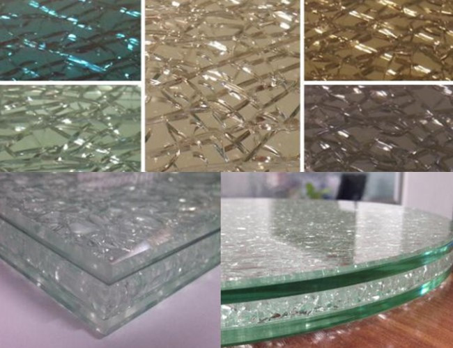 broken laminated glass China manufacturer