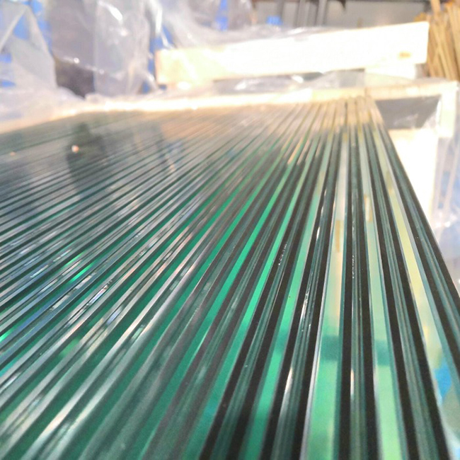 8.76mm laminated glass
