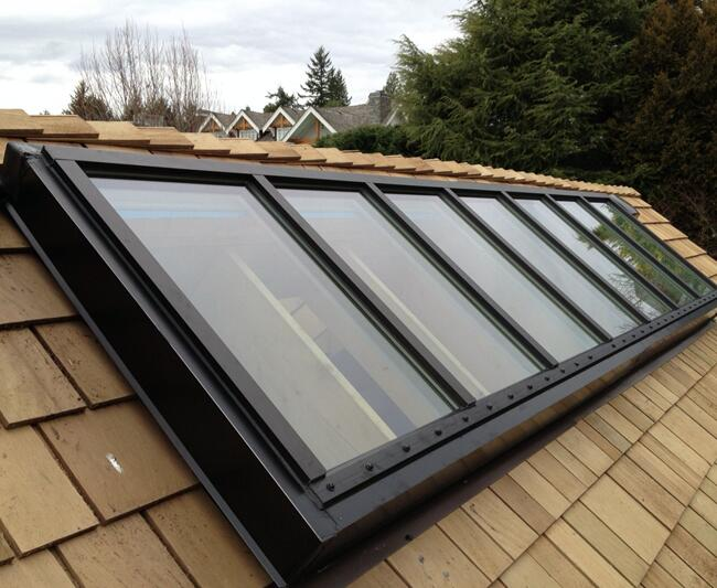 security laminated glass for skylight