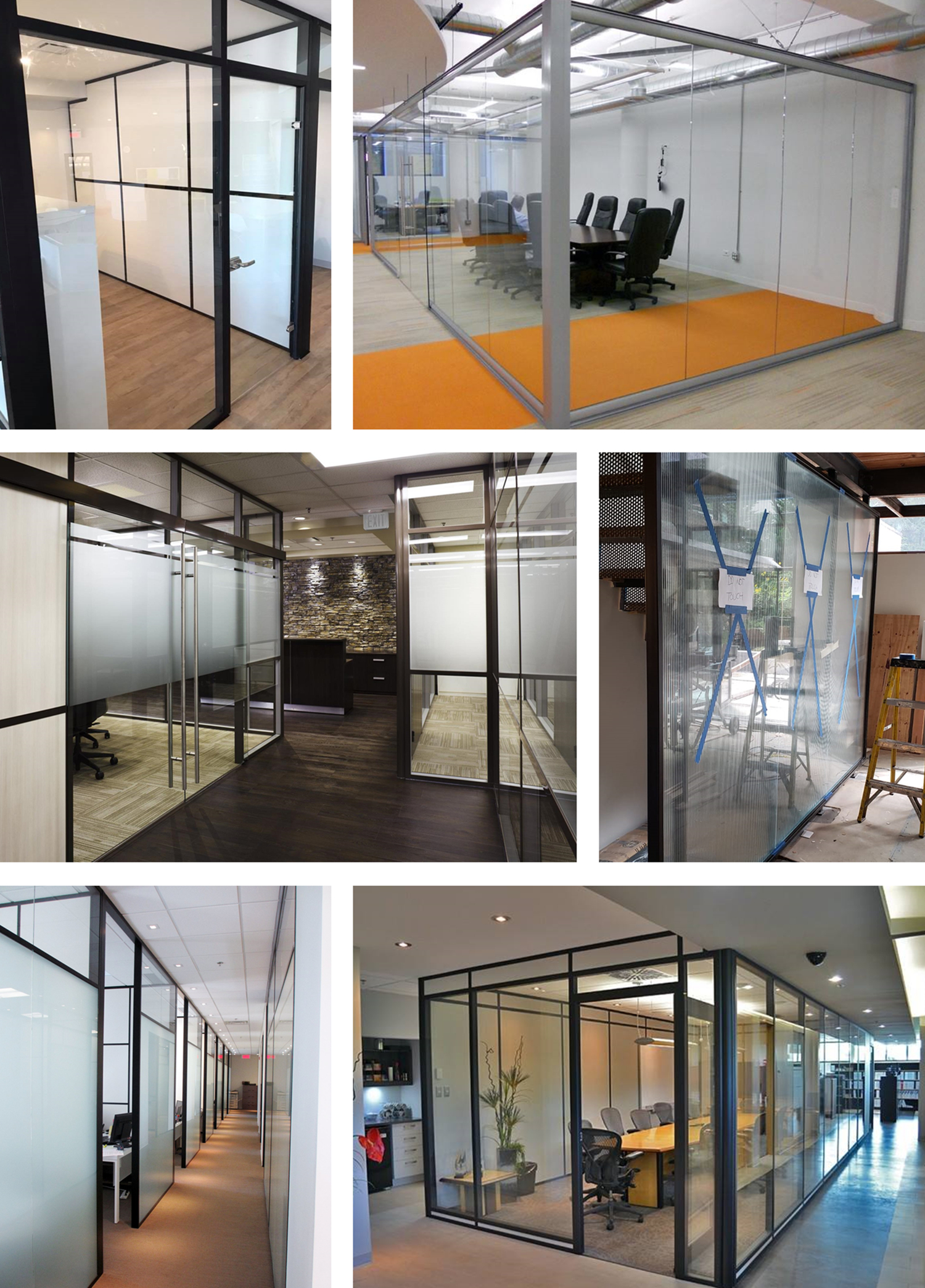 Tempered glass laminated glass clear frosted decorative PDLC switchable smart glass partition wall