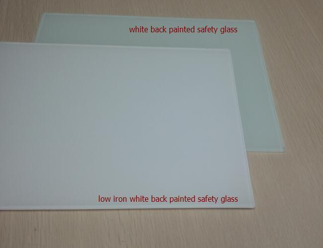 5mm lacobel ultra clear white glass
