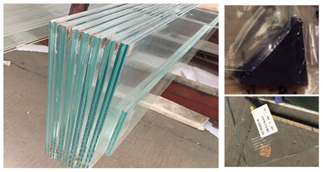 55.3, 11.14 ultra clear laminated tempered glass