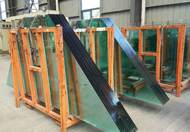 Special-shaped structure Building tempered glass for skylight system