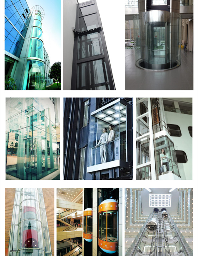 China elevator glass supplier