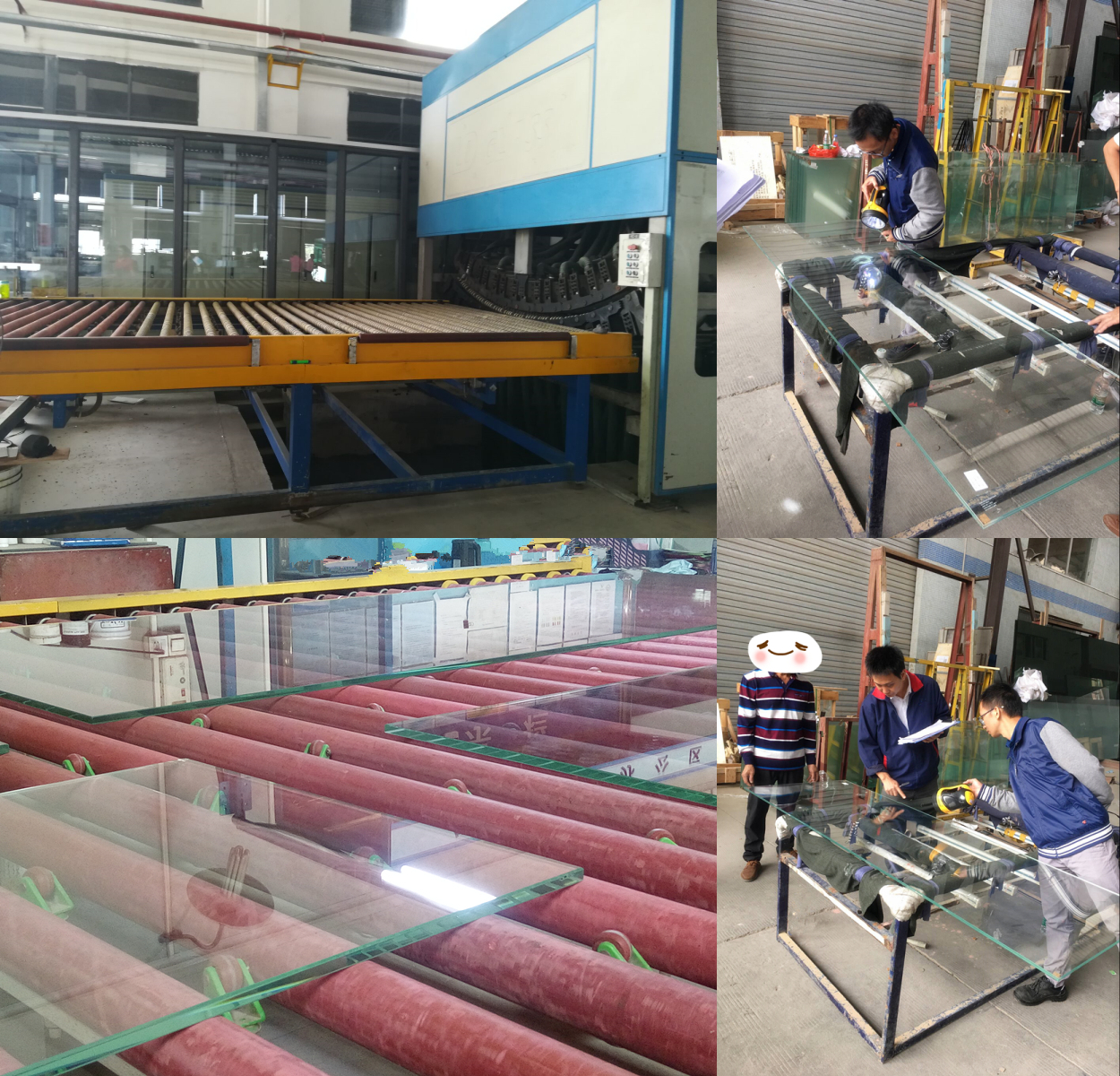 12mm low iron tempered glass