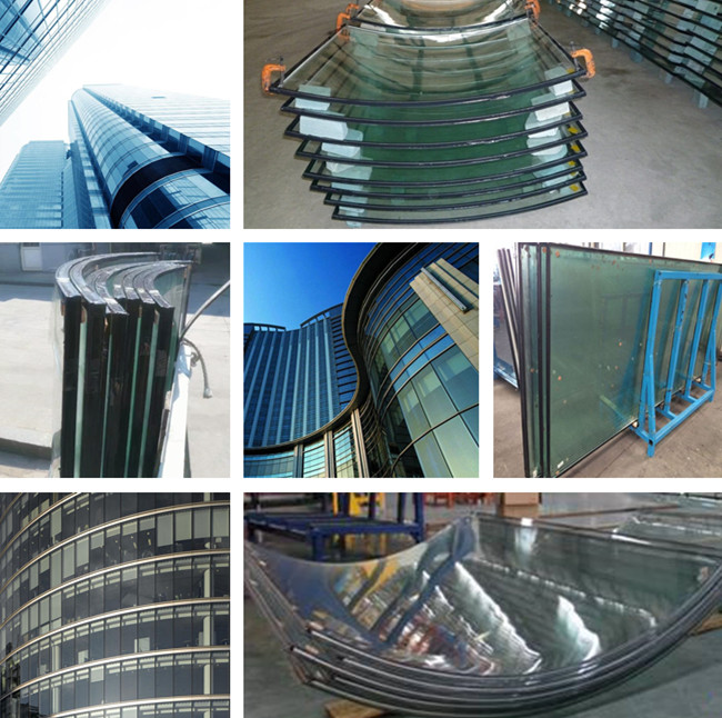 curved safety IGU glass supplier