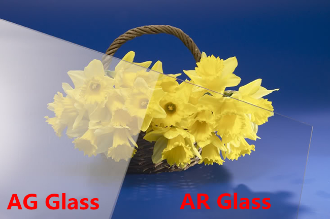 AR coating glass and AG Glass